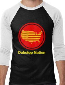 Dubstep Nation pt. II  Men's Baseball ¾ T-Shirt