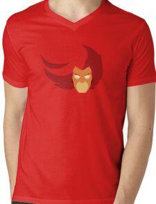 Lion-O Minimalistic Design Mens V-Neck T-Shirt