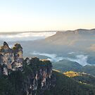 The Three Sisters Katoomba NSW by geoffgrattan