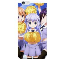 Chino, Rize and Cocoa from Gochiusa iPhone Case/Skin