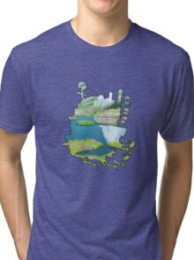 Howl's moving castle 1 Tri-blend T-Shirt
