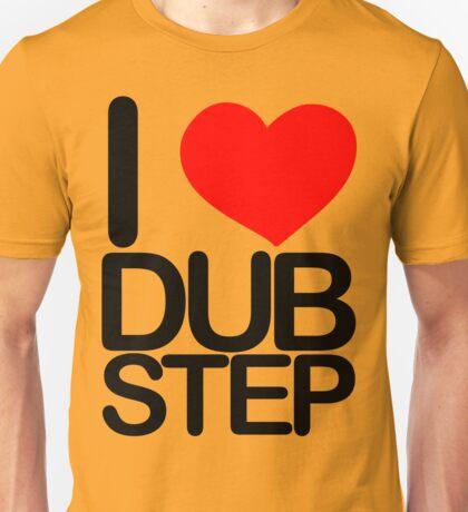I love dubstep (dark)  Unisex T-Shirt