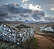 Storm Over Yokohl Valley by Joseph Fronteras