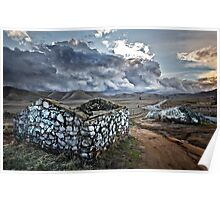 Storm Over Yokohl Valley Poster