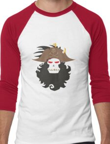 The Ghost Pirate LeChuck Minimalistic Design Men's Baseball ¾ T-Shirt