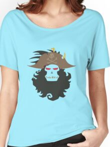 The Ghost Pirate LeChuck Minimalistic Design Women's Relaxed Fit T-Shirt