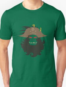 The Ghost Pirate LeChuck Minimalistic Design Unisex T-Shirt