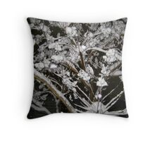 Feb. 19 2012 Snowstorm 34 Throw Pillow