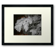 Feb. 19 2012 Snowstorm 38 Framed Print