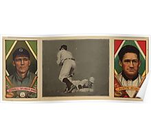 Benjamin K Edwards Collection George T Stovall James Austin St Louis Browns baseball card portrait Poster