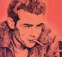 James Dean by debbiemc