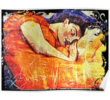 Sleeping Fresco Poster
