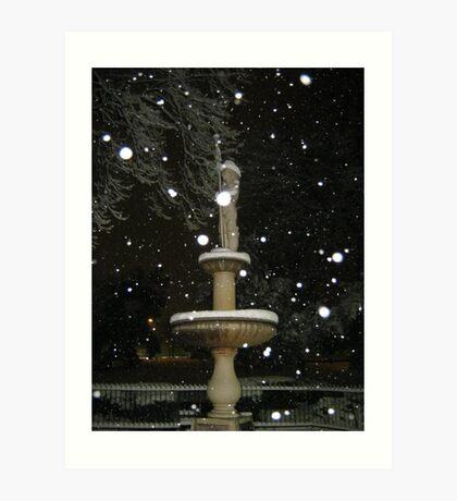Feb. 19 2012 Snowstorm 53 Art Print