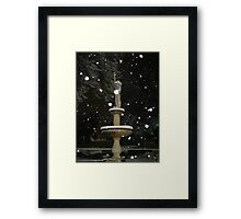 Feb. 19 2012 Snowstorm 53 Framed Print