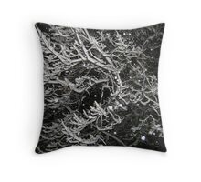 Feb. 19 2012 Snowstorm 55 Throw Pillow