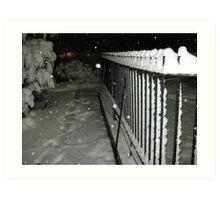 Feb. 19 2012 Snowstorm 56 Art Print