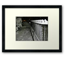 Feb. 19 2012 Snowstorm 56 Framed Print