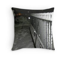 Feb. 19 2012 Snowstorm 56 Throw Pillow