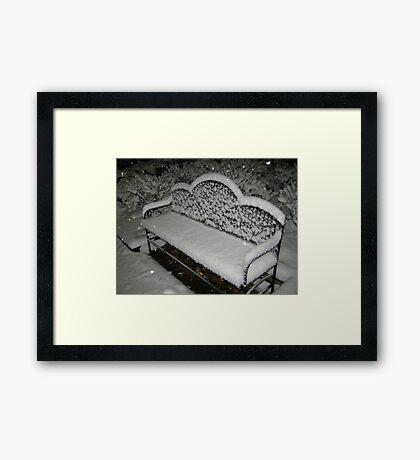 Feb. 19 2012 Snowstorm 57 Framed Print
