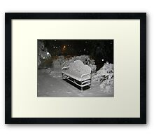 Feb. 19 2012 Snowstorm 58 Framed Print