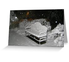 Feb. 19 2012 Snowstorm 58 Greeting Card