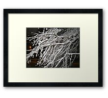 Feb. 19 2012 Snowstorm 60 Framed Print