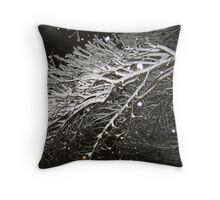 Feb. 19 2012 Snowstorm 61 Throw Pillow