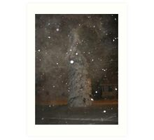 Feb. 19 2012 Snowstorm 62 Art Print