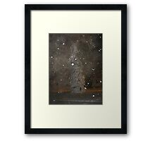 Feb. 19 2012 Snowstorm 62 Framed Print