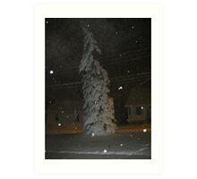 Feb. 19 2012 Snowstorm 63 Art Print