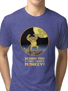 A Three headed Monkey! Tri-blend T-Shirt