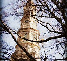 Cathedral in Charleston by Jennifer Rhoades