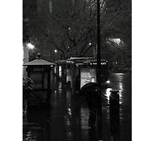 Snow Storm Photographic Print