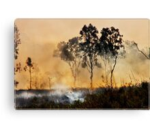 The Burnoff 2 Canvas Print