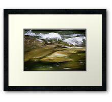 The Boulders 08 Framed Print