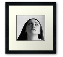 To love beauty is to see light.  Framed Print