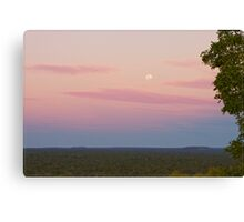 Undara Moonrise Canvas Print