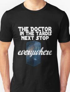 The Doctor in the TARDIS T-Shirt