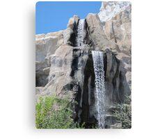 Disneyland Waterfall Canvas Print