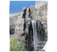 Disneyland Waterfall Poster