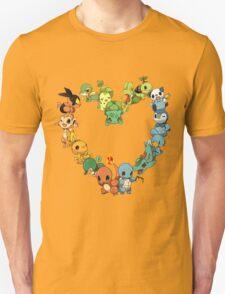 Pokemon Heart  T-Shirt