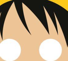 Monkey D. Luffy Minimalistic Design Sticker