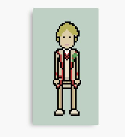 Fifth Doctor Canvas Print