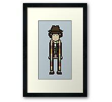 Fourth Doctor Framed Print