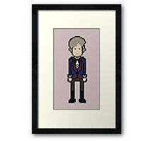 Third Doctor Framed Print