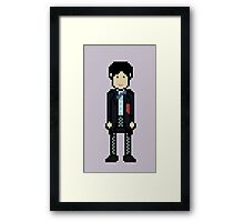 Second Doctor Framed Print