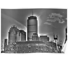 Prudential Building, Boston MA Poster