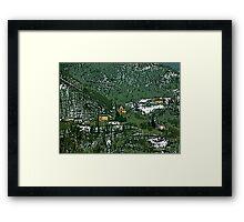"""..a surreal landscape....Guendalyn nel """"Paese delle Meraviglie""""....(versione 2 ) VETRINA RB EXPLORE 8 DICEMBRE 2013 Framed Print"""