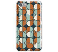 Retro circles iPhone Case/Skin