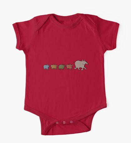 tapir family One Piece - Short Sleeve